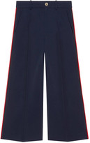 Gucci Side Stripe Web Band Trousers