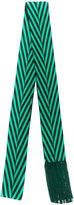 Haider Ackermann thin fringe scarf