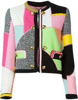 Moschino patchwork jacket
