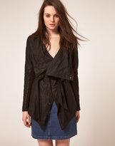 Muu Baa Muubaa Leather Clover Jacket