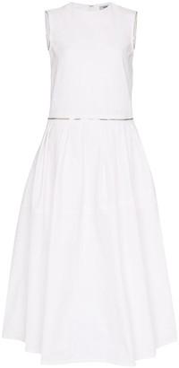 we11done Zipped Midi Dress