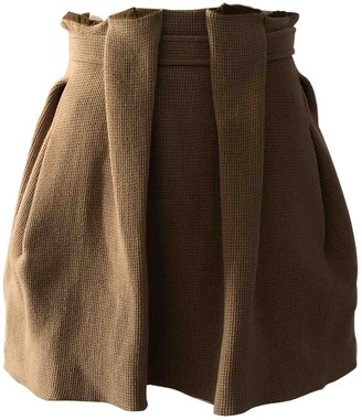 Kenzo Brown Wool Skirt for Women