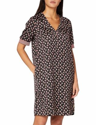Scotch & Soda Women's V-Neck Dress with Ribs Casual