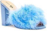 Katy Perry Bon-Bon Feather Slides