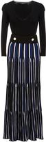 Derek Lam Belted Long Sleeve Dress