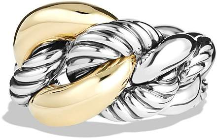 David Yurman Belmont Ring with 18K Gold