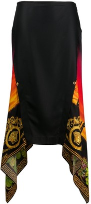 Versace Desert Nights Print Skirt