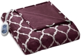 Simmons Oversized Ogee Heated Throw