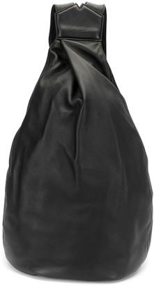 Discord Yohji Yamamoto large Y calf-leather backpack