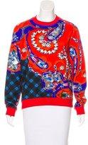 Mary Katrantzou Digital Print Crew Neck Sweatshirt