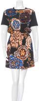 Louis Vuitton 2015 Silk Floral Print Dress