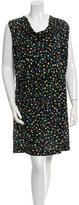Gerard Darel Printed Chiffon Dress