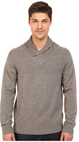 Rodd & Gunn New Clarkes Cowl Neck Heathered Merino Sweater