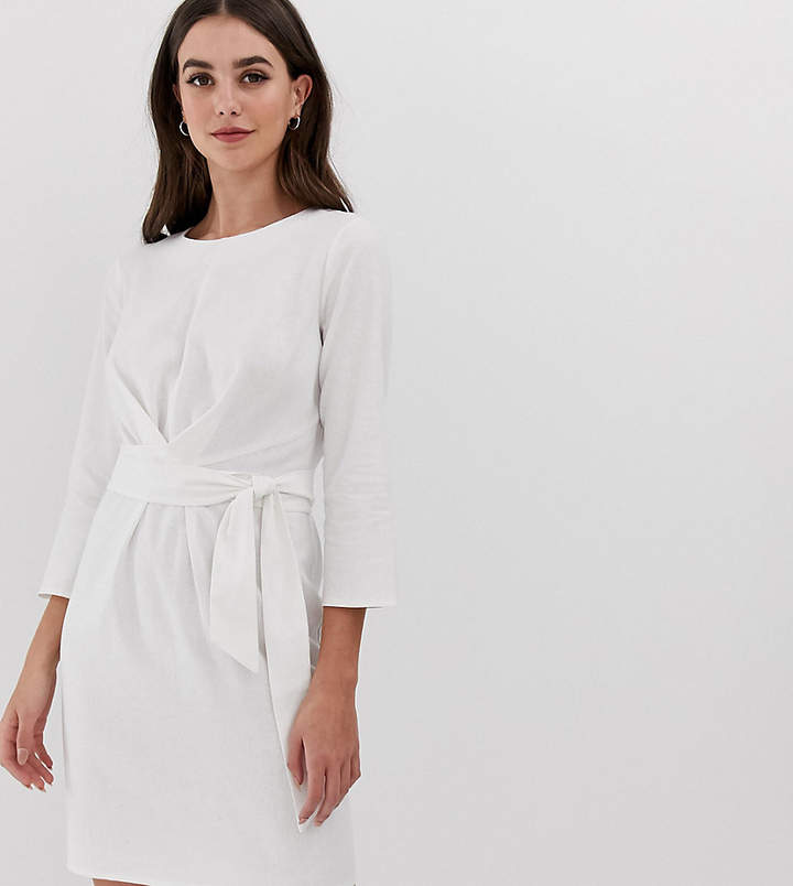 fc30d13ee7 Designer White Linen Dress - ShopStyle UK