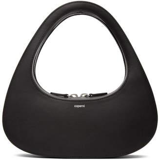 Coperni Black Swipe Baguette Bag