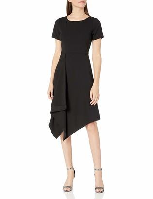 Sharagano Women's Drape Dress