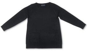 Karen Scott Patch-Pocket Sweater, Created for Macy's