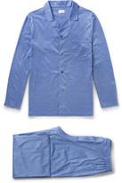 Derek Rose Bari Cotton-Jersey Pyjama Set