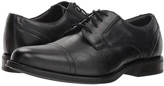 Dockers Garfield (Black) Men's Lace Up Cap Toe Shoes