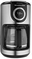 KitchenAid 12-Cup Glass Carafe Coffee Maker in Black