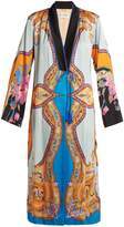Etro Jasper paisley and floral-printed crepe coat