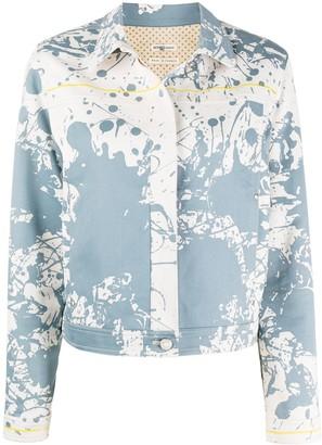 Hermes 2000s pre-owned Cheval Surprise denim jacket