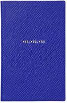 Smythson Yes Yes Yes Leather Notebook
