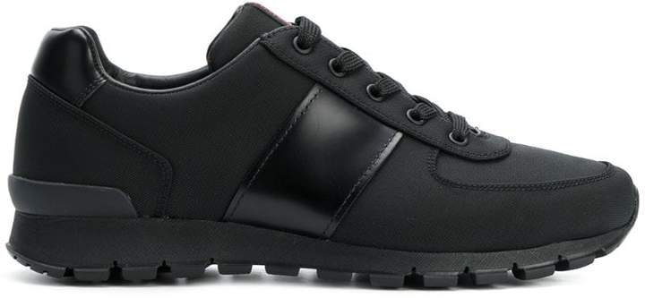 Prada classic lace-up sneakers