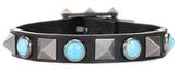 Valentino Garavani Rockstud Rolling leather bracelet