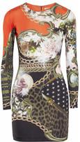 Emma Cook Jessie printed stretch-jersey dress