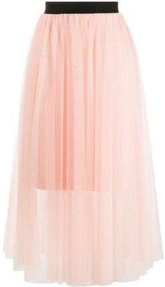 HUGO BOSS Layered Tulle Skirt
