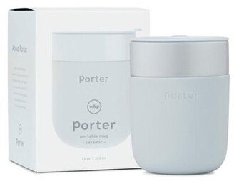 W&p Porter Ceramic Travel Mug Slate 12 Oz