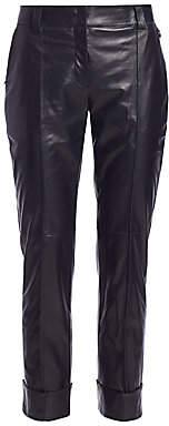 Akris Women's Maxima Leather Pants