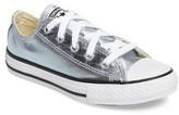 Converse Toddler Girl's Chuck Taylor All Star Ox Metallic Low Top Sneaker