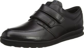 Kickers Men s Troiko Strap Black Leather Boots