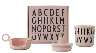 Design Letters Grow With Your Cup Melamine Gift Set - Nude