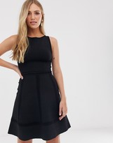 French Connection fit and flare dress