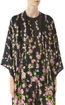 Gucci Climbing Roses Print Pajama Kimono