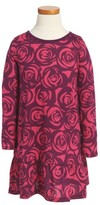 Tea Collection Toddler Girl's Rennie Rose Ruffle Dress
