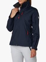 Helly Hansen Crew Hooded Midlayer Women's Waterproof Jacket, Navy