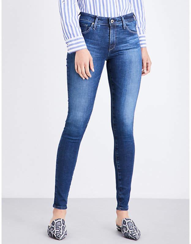 AG Jeans Farrah skinny high-rise jeans