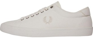 Fred Perry Mens Underspin Canvas Crepe Ecru