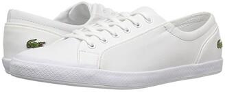 Lacoste Lancelle BL 1 (White) Women's Shoes