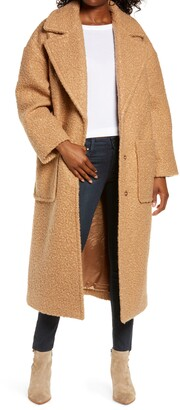 UGG Hattie Long Faux Fur Coat