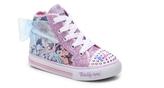 Skechers Twinkle Toes Shuffles Pixie Girls Toddler Light-Up High-Top Sneaker