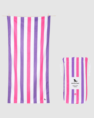 Dock & Bay Extra Large Beach Towel 100% Recycled Summer Collection