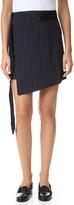 Marissa Webb Lora Pinstripe Miniskirt