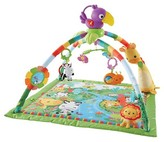 Fisher-Price Rainforest Music & Lights Deluxe Gym - Multicolored