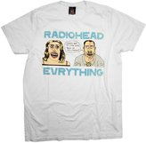 Radiohead Everything Rock Band Junk Food T-Shirt Tee Select Shirt Size: