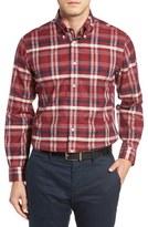 Brooks Brothers Regent Fit No-Iron Oxford Plaid Sport Shirt